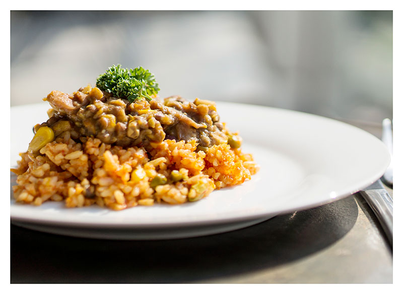 MEAL OPTION 6 :: Savoury Rice and Brown Lentils with Savoury Rice
